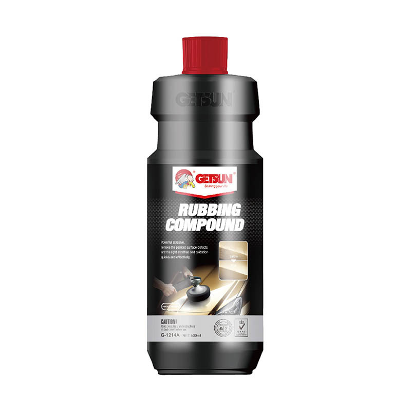 GETSUN powerful abrasive remove the painted surface defects and the light scratches and oxidation quickly and effectively RUBBING COMPOUND G-1214A for car paint