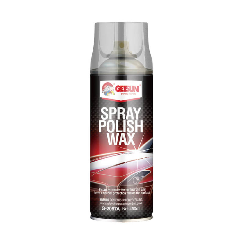 GETSUN decontamination high shine  Spray Polish Wax liquid wax G-2097A for car