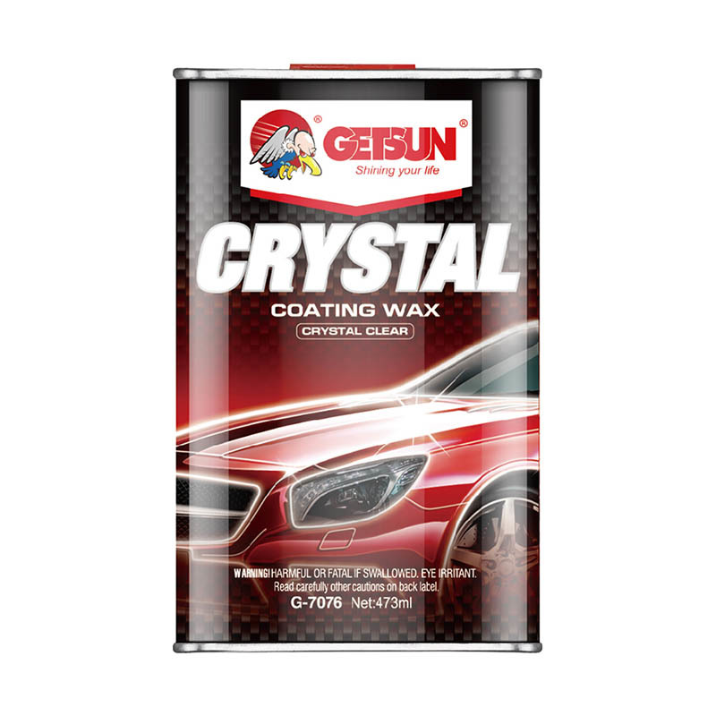 GETSUN Coating wax crystal clear Crystal  coating wax G-7076A  big  size  for car body