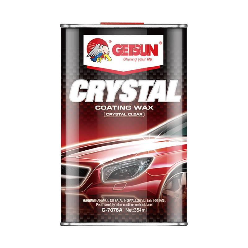 GETSUN Coating wax crystal clear Crystal  coating wax G-7076A small size  for car body