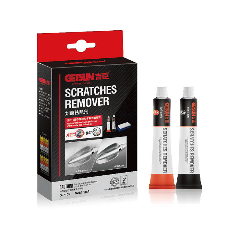 GETSUN Two pcs A/B Scratches Remover Small set G-7109 A for Removing scratch  B for polish car